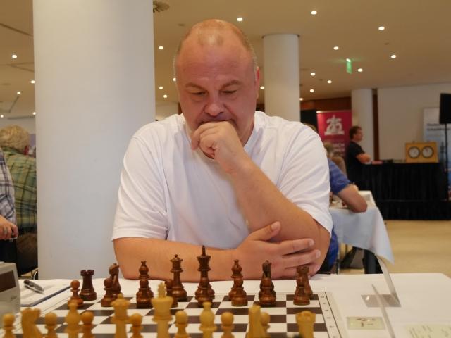 2. Platz Grupppe B bei FIDE Open 2019: Silvio Niemann, Foto: Ausrichter