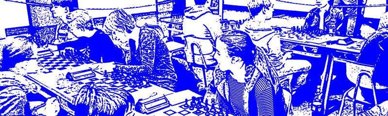 Deutsche Schulschachmeisterschaften (DSM); Foto: Sven Helms, Grafik: Gerd Zentgraf